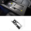 Carbon Fiber Inner Water Cup Holder Frame Cover Trim For Jaguar F-Pace X761 2018