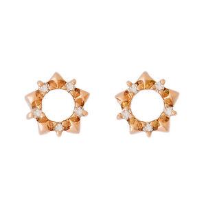 PETITE-9K-ROSE-GOLD-NATURAL-DIAMOND-STUD-EARRINGS-ALLURING-STAR-SHAPE-STUDS