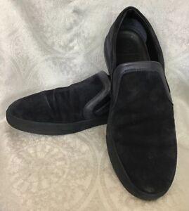 Moncler Loafer Shoe Navy Suede Slip On