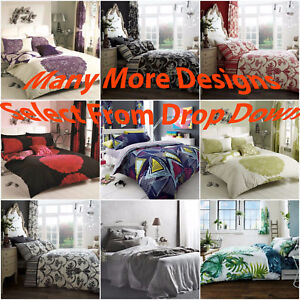 Duvet Cover Pillow Case Bed Set Quilt Cover Double King Size Ebay