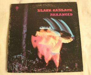 Black-Sabbath-Paranoid-LP-Warner-Bro-WS-1887-1970-Cover-G-Vinyl-VG-Inner-Sleeve
