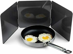 Frying-Pan-Splash-Guard-Splatter-Kitchen-Cover-Anti-Oil-Screen-Cooking-Shield-UK