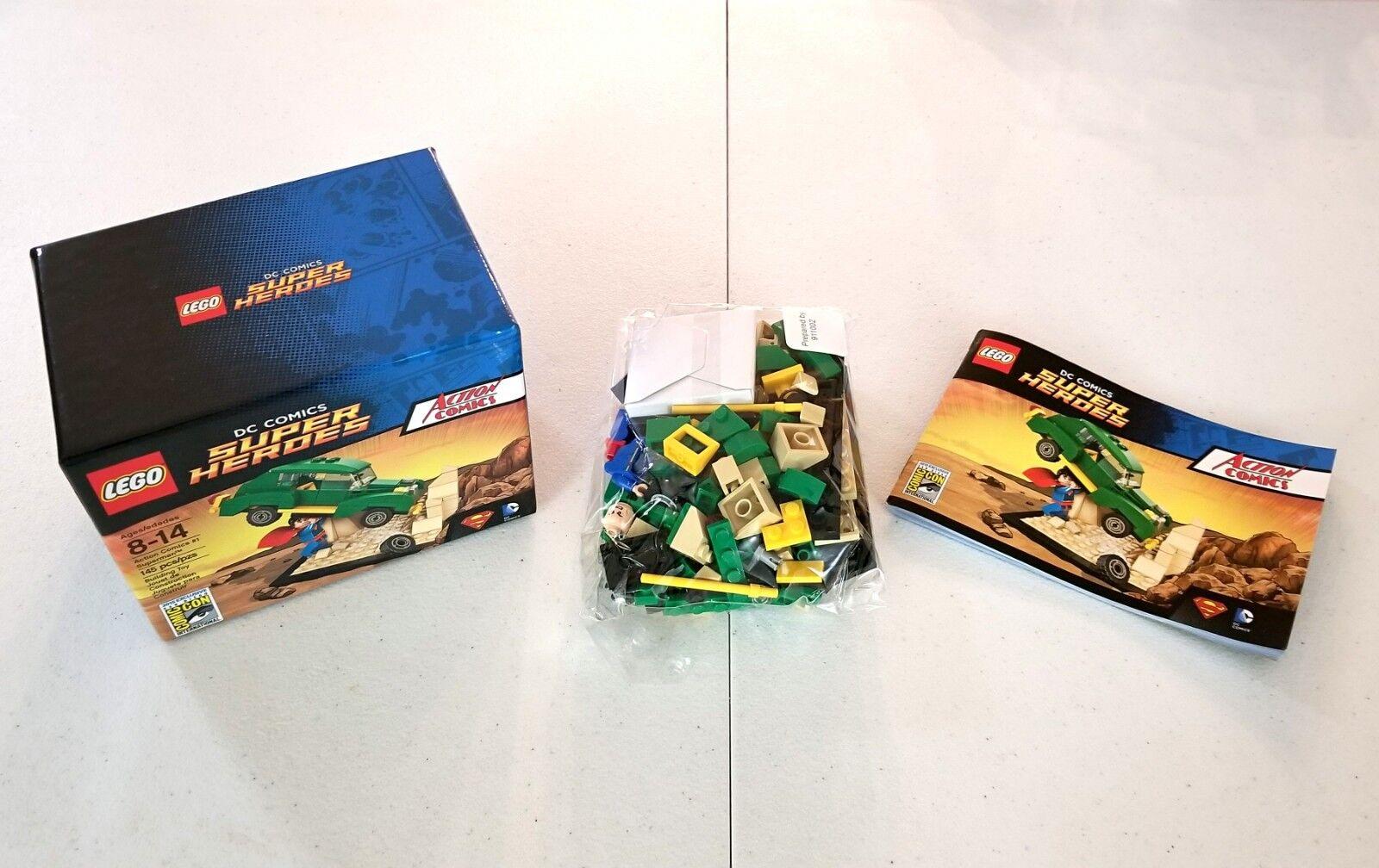 LEGO SDCC Comic Con 2015 Action Comics  1 Superman EXCELLENT EUC 100% Complete