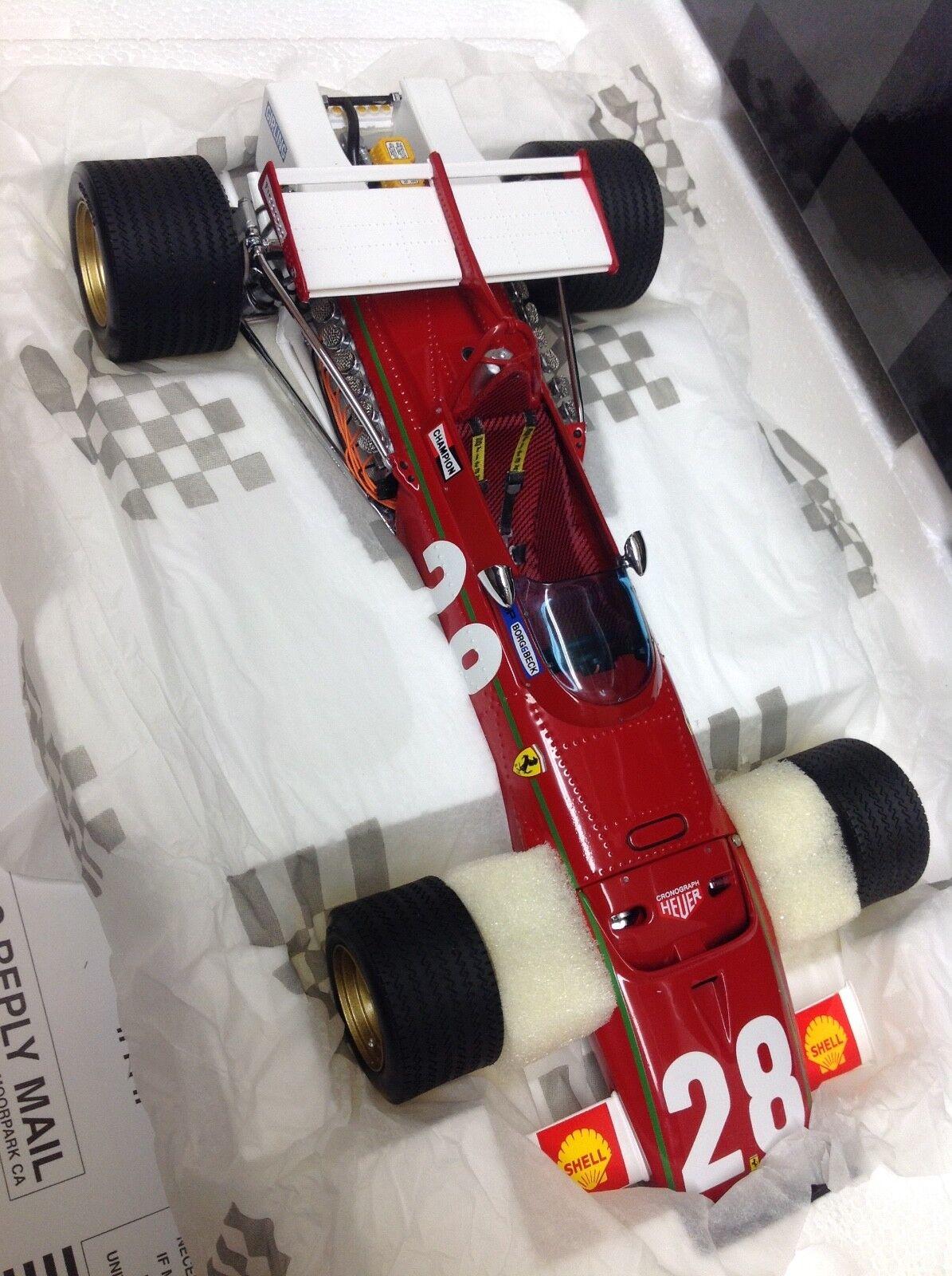 Exoto ferrari 312 B Ignazio giunti Grand Prix begium 1 18 nuevo 97066