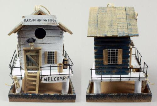 Vogelhaus Holz Vogelhäuschen Nistkasten Brutkasten Vogelfutterhaus Futterspender