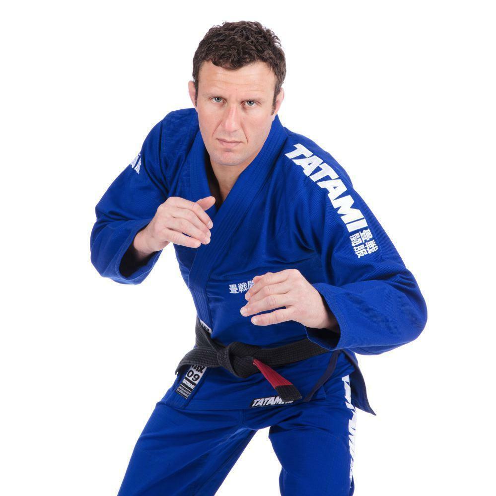 Tatami Fightwear Essenziale Bjj Gi Blu Arti Marziali Jiu Jitsu Suit Ju