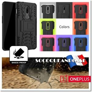 Etui-Coque-Housse-pneu-dual-layer-Shockproof-Heavy-Duty-Case-Cover-OnePlus-6