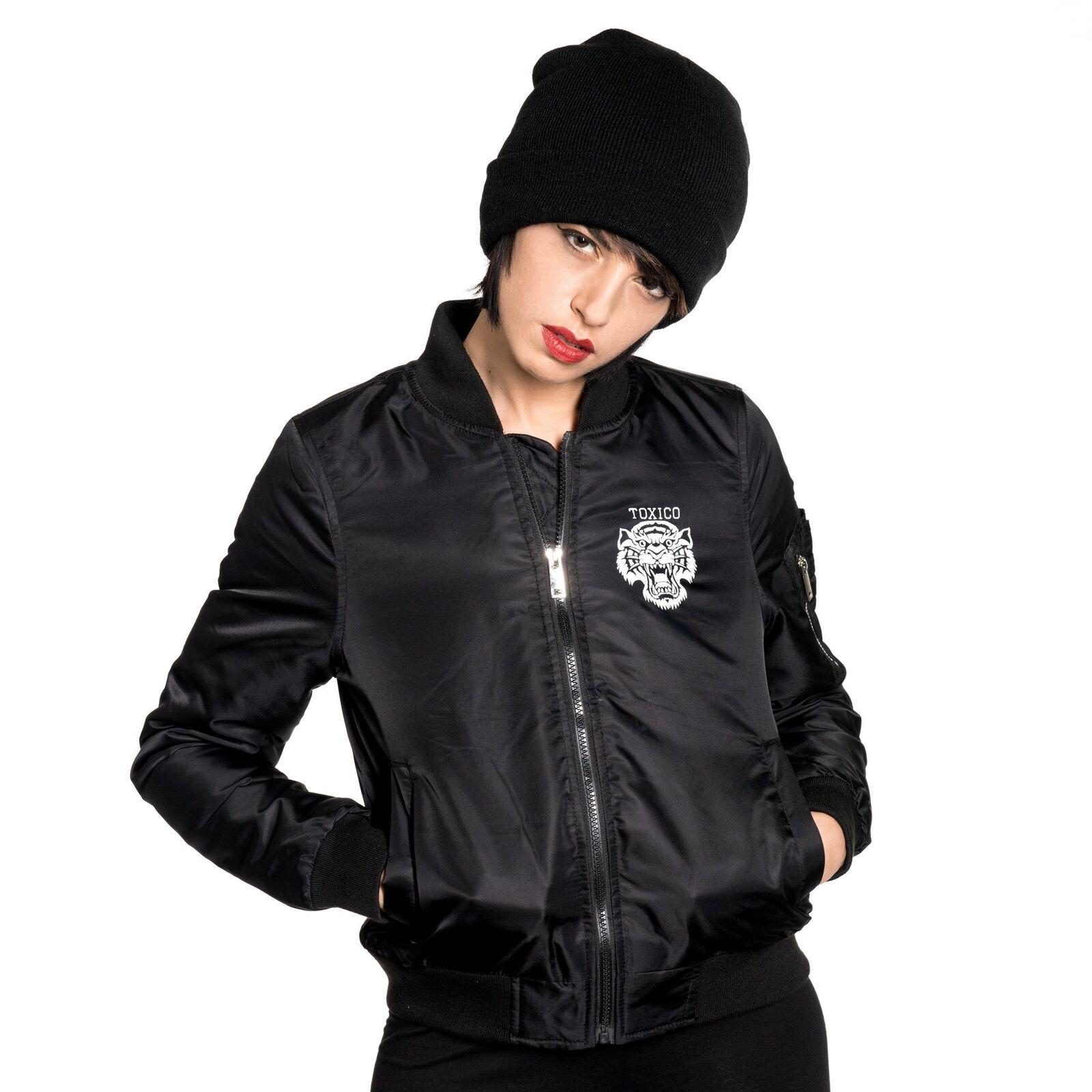 Toxico Clothing - Tigers Flight Jacket