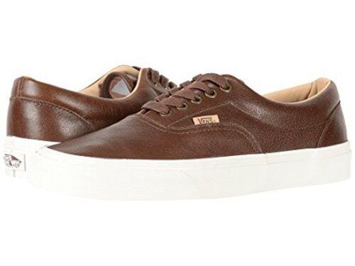 Off Rasé The Cuir Vans Chaussures Chocolat Marron Era Hommes Luxe Wall YxdwqM5ZqX