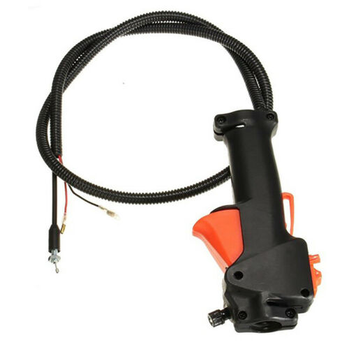 Strimmer Trimmer BrushCutter Handle Switch Throttle Trigger Cable For 26mm Tube
