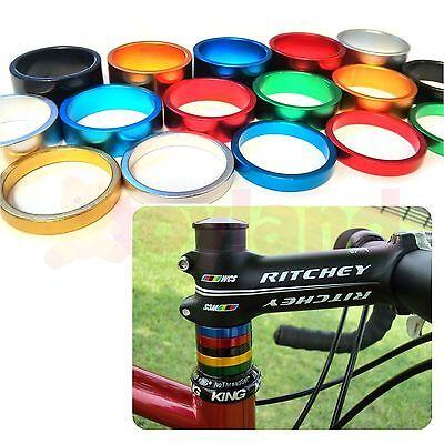 """Bike Headset Spacers 1⅛"""" Bicycle Cnc Machine Light Alloy 5 10 15mm Fixie Bmx Mtb Reichhaltiges Angebot Und Schnelle Lieferung"""