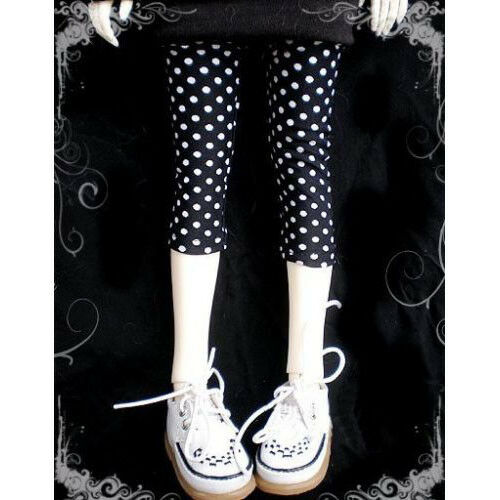 10# Black Pants PF Stockings 1 6 SD DZ AOD DOD BJD Doll Dollfie