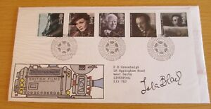 FDC-First-Day-Cover-Signed-Isla-Blair-034-Taste-the-Blood-of-Dracula-034