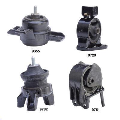 Motor Mount /& Automatic Trans Mount Kit 4PCS for 01-06 Hyundai Santa Fe 2.7L 2WD