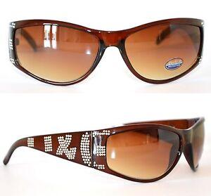 OCCHIALI-da-SOLE-donna-MARRONI-lenti-eleganti-brillantini-strass-sunglasses-45