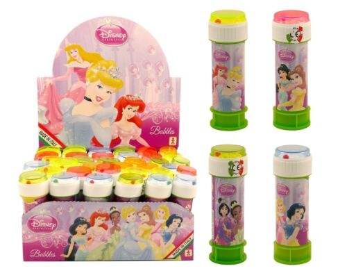 Disney Princess Girls//Kids Party Bag Filler Loot Toys BUBBLES Choose Amount