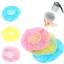 6PCS-Waterproof-Women-Lady-Elastic-Dot-Shower-Bathing-Salon-Hair-Cap-Hat-Random thumbnail 1