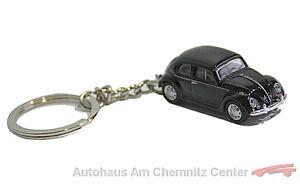 NUEVO-original-vw-llavero-Beetle-Escarabajo-Volkswagen-Negro-Retro-Clasico