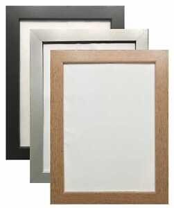 Modern Black picture frames poster frame wood effect photo Frames A5 A4 A3 A2 A1