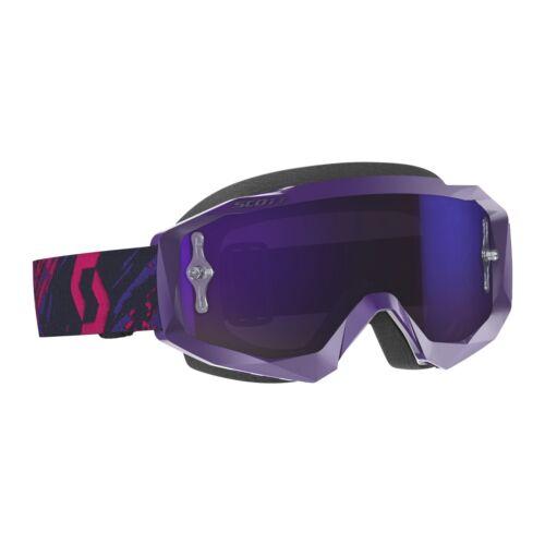 Scott USA Hustle X Goggles Motocross MX ATV UTV Offroad Dirtbike Antifog Adult