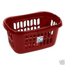 Item 3 Plastic Laundry Bin Hipster Basket Washing Clothes Storage Rectangular Round