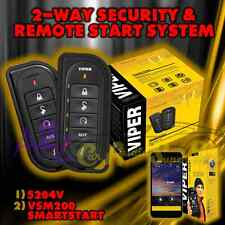 VIPER 5204V LE 2 WAY CAR ALARM AND REMOTE START WITH VSM200 SMARTSTART MODULE B