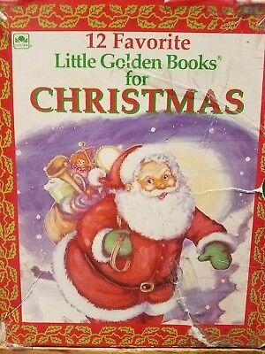 12 favorite little golden books for Christmas complete set ...