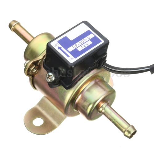 12V Motorcycle Low Pressure Gas Diesel Fuel Pump For Kubota Yanmar Cub