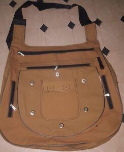 Falconry-Arab-Bag-Hunting-Xtra-large-Bag-20inches-long-New-Dark-Brown