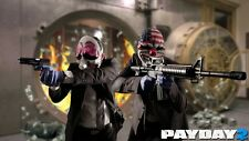 POSTER PAYDAY 2 THE HEIST PAY DAY DALLAS HOXTON CHAINS WOLF PS3 XBOX 360 GAME 10