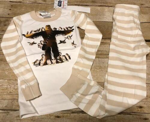 Hanna Andersson pjs Star Wars Chewbacca new organic cotton 110 110 4t 5 Pajamas