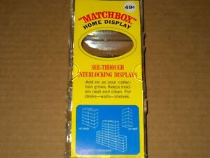 Matchbox-Lesney-Fred-Bronner-Vintage-Home-Display-Case-NEW