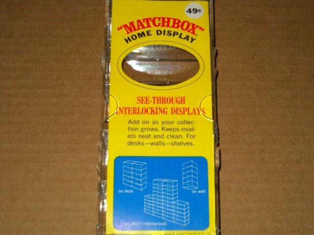 Matchbox Lesney / Fred Bronner Vintage Home Display Case - NEW