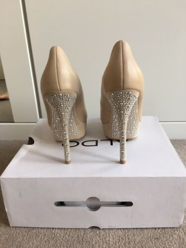 4ea6b7a9233f Size New Heel 6 Brand Sparkling In Nude High Diamonte Box Shoes Aldo  vqqCw8d7
