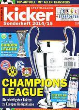2014 2015 Kicker Champions League Preview Europa League Sonderheft Football