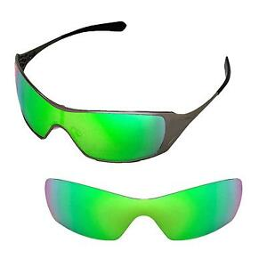 c6179299a1 Image is loading New-WL-Polarized-Emerald-Replacement-Lenses-For-Oakley-