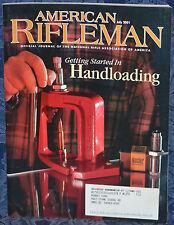 Magazine American Rifleman, JULY 2001 !!! GAMO PT-80 Air PISTOL, Spain !!!