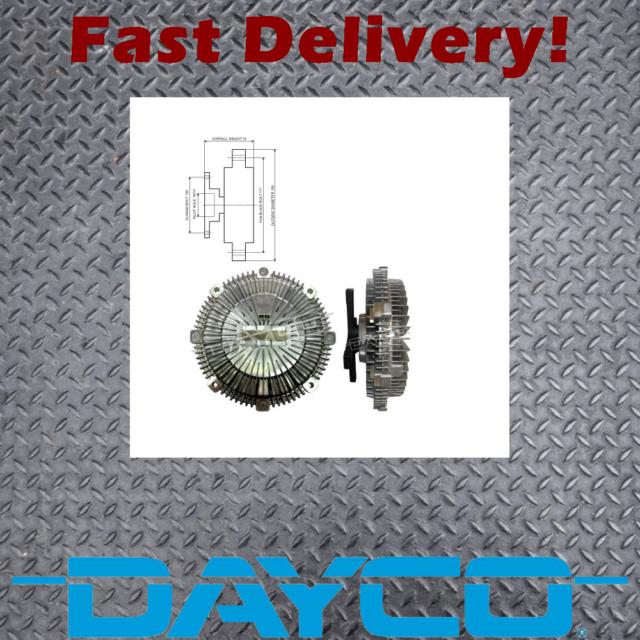 Dayco 115543 Viscous Fan Clutch