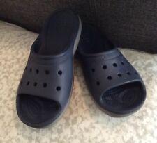 9720a6dcf3a5 Crocs Unisex Crocband LoPro Slide on Navy Blue Sandals Women s 9 ...
