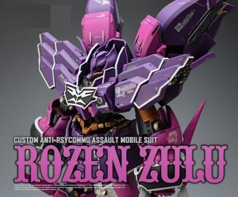 Gundam YAMS -132 Rozen Zulu Självdesign GK hkonsts modellllerlerl Kongröneringarlådor 1  100