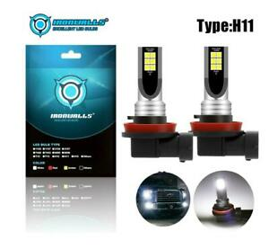 2Pcs-H11-LED-Headlight-Kits-100W-10000LM-FOG-Light-Bulb-6000K-Driving-DRL-Lamp