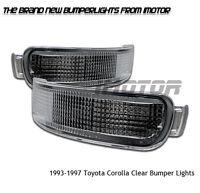 1993-1997 Toyota Corolla Le/base 4/5dr Sedan Wagon Chrome Bumper Signal Lights on sale