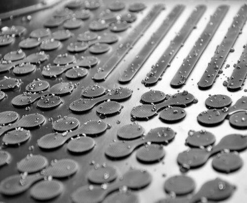 3D Gummifussmatten Gummimatten für Iveco DAILY IV 2006-2011