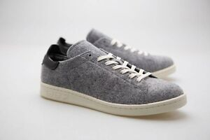 Details about Adidas Men Stan Smith PC gray core black vintage white AQ8452