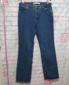 Harley-Davidson-Blue-Jeans-Women-039-s-Boot-Cut-Size-12-Harley-Pants-Clothing
