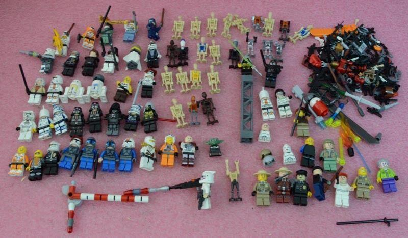 Huge Huge Huge Mixed Lego Minifigures Mostly Star Wars. 852baf