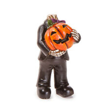 Headless Pumpkin Head Skeleton Man DA 30034848 Miniature Fairy Garden