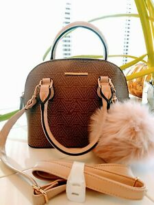 77ac63bcf83 NEW Spring Pretty N PINK ALDO CHIADDA Dome Handbag Cross Body Purse ...