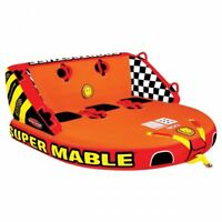 Sportsstuff Super Mable Inflatable Triple Rider Towable Tube