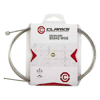 CLARKS UNIVERSAL STAINLESS STEEL BRAKE CABLE 1810mm 1.5mm ROAD MOUNTAIN BIKE